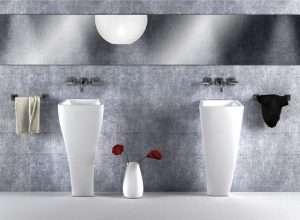 Umywalki stojące