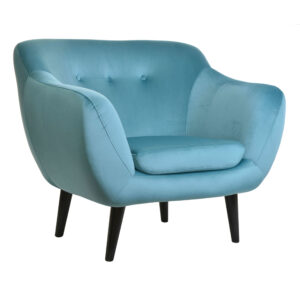 Fotel welurowy