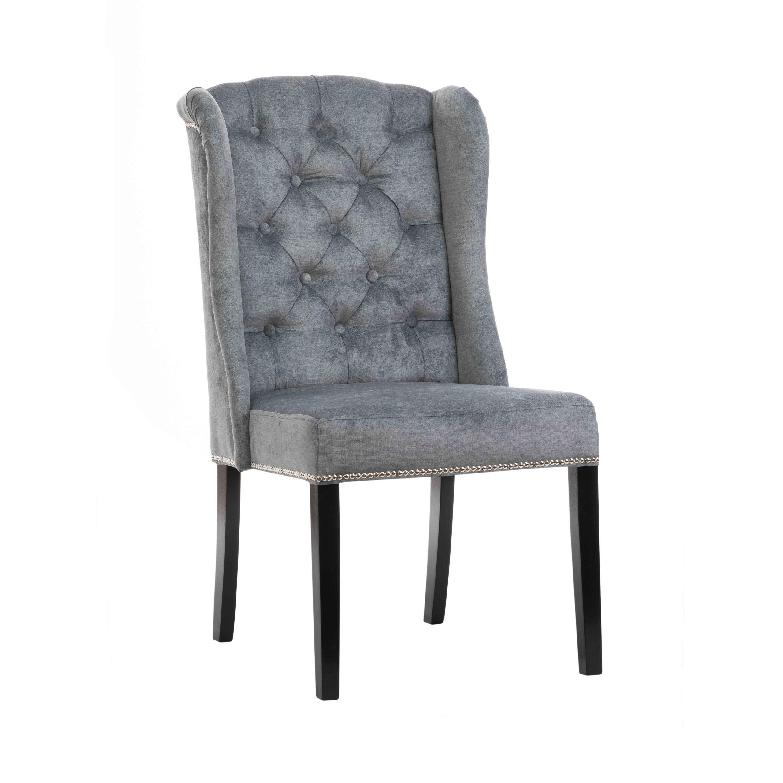 Krzesło na drewnianych nóżkach